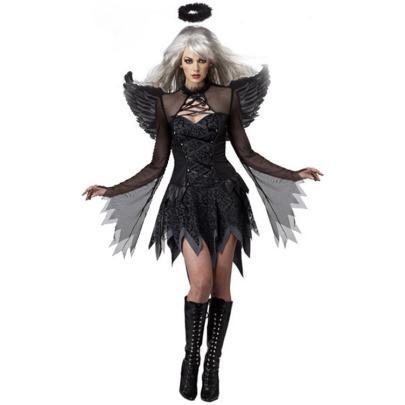 Women's Evil Angel Cosplay Costume Nihaostyles Wholesale Halloween Costumes NSMRP78761