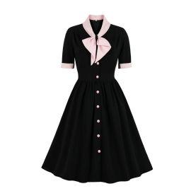Women's Bow Knot Dress Nihaostyles Clothing Wholesale NSMXN78862