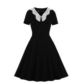 Women's Lace Stitching Dress Nihaostyles Clothing Wholesale NSMXN78864