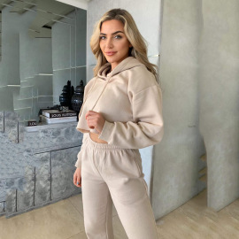 Women's Loose Two-piece Sweatshirt Nihaostyles Wholesale Clothing NSYBN78879