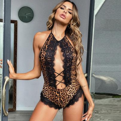 Women's Net Yarn One-piece Underwear Nihaostyles Clothing Wholesale NSRBL78924