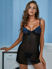 Women's Sling Slim Nightdress Nihaostyles Clothing Wholesale NSRBL78927