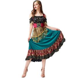 Women's Flamenco Costume Nihaostyles Wholesale Halloween Costumes NSPIS78962