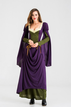 Luxury Palace Goddess Cosplay Costume Nihaostyles Wholesale Halloween Costumes NSQHM79019