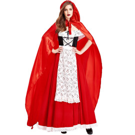 Little Red Riding Hood Cosplay Costume Nihaostyles Wholesale Halloween Costumes NSPIS79045