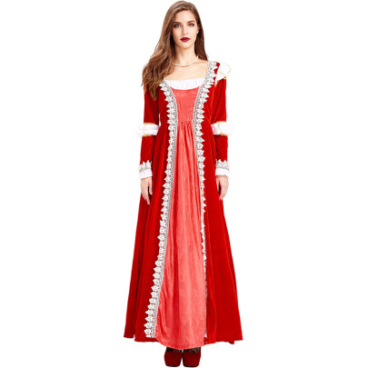Red Flannel Robe Dance Party Dress Nihaostyles Wholesale Halloween Costumes NSPIS79047