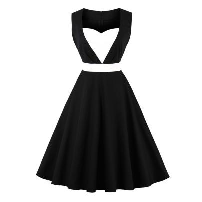 Women's Heart-shaped Sleeveless Dress Nihaostyles Clothing Wholesale NSMXN79073
