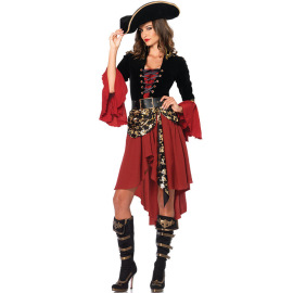 Halloween Female Pirate Cosplay Costume Nihaostyles Wholesale Halloween Costumes NSMRP79085