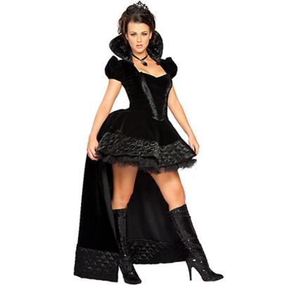 Halloween Queen  Devil Dress Cosplay Costume Nihaostyles Wholesale Halloween Costumes NSMRP79086