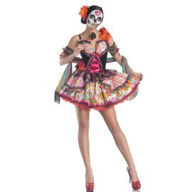 Halloween Costume Ghost Bride Demon Vampire Cosplay Costume Nihaostyles Wholesale Halloween Costumes NSMRP79088