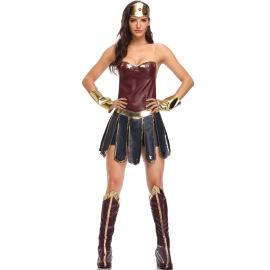 Halloween Costume Wonder Woman Cosplay Costume Nihaostyles Wholesale Halloween Costumes NSMRP79090