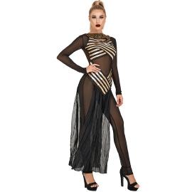 Halloween Costume Greek Goddess Cleopatra Cosplay Costume Nihaostyles Wholesale Halloween Costumes NSMRP79091