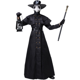 Halloween Plague Doctor Crow Long Mouth Movie Costume Cosplay Costume Nihaostyles Wholesale Halloween Costumes NSMRP79092