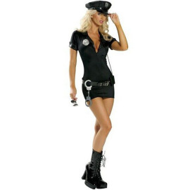 Halloween Costume Policewoman Cosplay Costume Set Nihaostyles Wholesale Halloween Costumes NSMRP79093