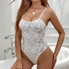 Women's Body-sculpting Sling One-piece Swimsuit Nihaostyles Clothing Wholesale NSRBL79161