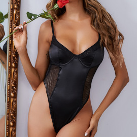 Body Shaping Suspender One-piece Sexy Lingerie Nihaostyles Clothing Wholesale NSRBL79179