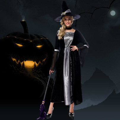 Halloween Cosplay Witch Dress Costume Nihaostyles Wholesale Halloween Costumes NSPIS79195