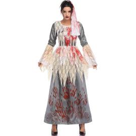 Vampire Ghost Bride Dress Cosplay Costume Nihaostyles Wholesale Halloween Costumes NSMRP79214