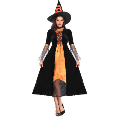 Halloween Costume Cosplay Demon Vampire Witch Set Nihaostyles Wholesale Halloween Costumes NSMRP79218
