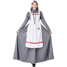 Medieval Medical Nurse Cosplay Costume Suit Nihaostyles Wholesale Halloween Costumes NSMRP79221