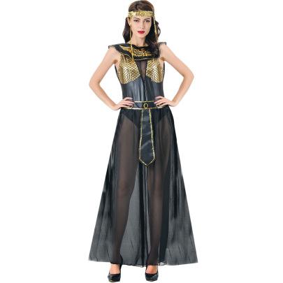Halloween Greek Goddess Cleopatra Cosplay Costume  Nihaostyles Wholesale Halloween Costumes NSMRP79222