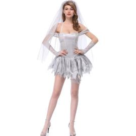 Halloween Costume Demon Vampire Bride  Cosplay Costume Nihaostyles Wholesale Halloween Costumes NSMRP79229