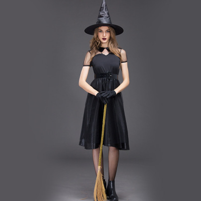 Witch Masquerade Costume Nihaostyles Wholesale Halloween Costumes NSQHM79238