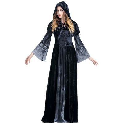 Horror Skull Vampire Cosplay Costume Nihaostyles Wholesale Halloween Costumes NSQHM79239