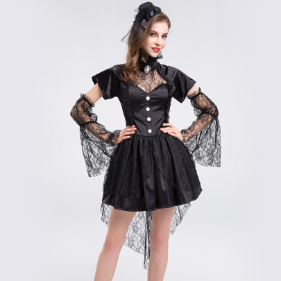 Women's Lace Skirt Cosplay Costume Nihaostyles Wholesale Halloween Costumes NSQHM79241