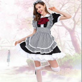Women's Anime Maid Role-playing Costume Nihaostyles Wholesale Halloween Costumes NSQHM79243