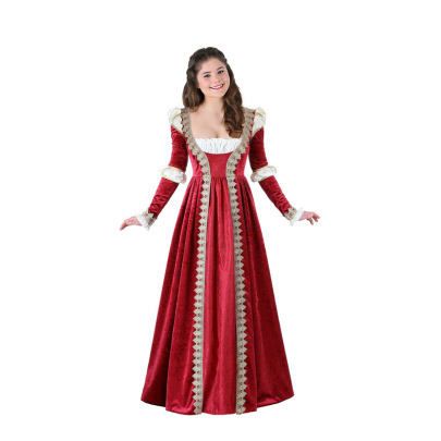Medieval Queen Cosplay Costume Nihaostyles Wholesale Halloween Costumes NSQHM79245