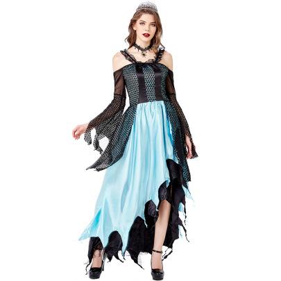Halloween Costume Vampire Demon Witch  Cosplay Costume Nihaostyles Wholesale Halloween Costumes NSMRP79316