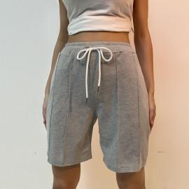 Women's Casual High Waist Elastic Sports Shorts Nihaostyles Wholesale Clothing NSDMB79435