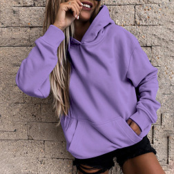 Autumn And Winter Women's Solid Color With Pockets Hoodie Nihaostyles Wholesale Clothing NSSI79476