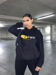 Women's Printing Letters Round Neck Long-sleeve Hoodie Nihaostyles Clothing Wholesale NSZZF79504