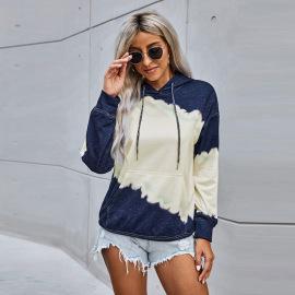 Women's Long-sleeved Tie-dye Hoodie Nihaostyles Clothing Wholesale NSSI79517