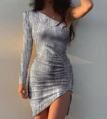 Women's Sexy Off-shoulder Package Hip Short Dress Nihaostyles Wholesale Clothing NSYIS80797
