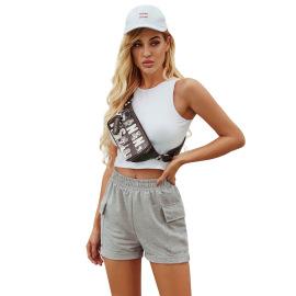 Women's High Waist Shorts Nihaostyles Clothing Wholesale NSJM79755