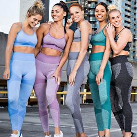 Seamless Underwear And Leggings Two-piece Yoga Set Nihaostyles Clothing Wholesale NSXER79794