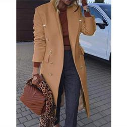 Mid-length Woolen Coat Nihaostyles Clothing Wholesale NSYSY80880