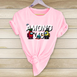 Anime Print Short-sleeved T-shirt Nihaostyles Wholesale Clothing NSYAY80894