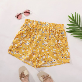 Spring And Summer Women's High Waist Casual Printed Holiday Shorts Nihaostyles Wholesale Clothing NSJM79897