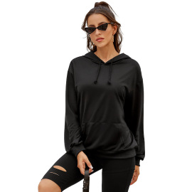 Autumn And Winter Women's Casual Pocket Pullover Hooded Sweatershirt Nihaostyles Wholesale Clothing NSJM79907
