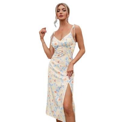 Women's Shoulder Strap Dress Nihaostyles Clothing Wholesale NSWX79975