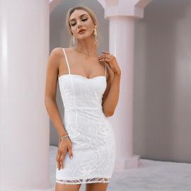 Women's Halter Strap Dress Nihaostyles Clothing Wholesale NSWX80065