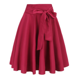 Women's Lace-up High-waisted Skirt Nihaostyles Clothing Wholesale NSJM80150