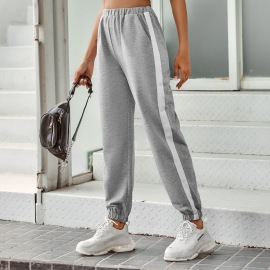 Women's High-waist Side Striped Pants Nihaostyles Clothing Wholesale NSJM80164