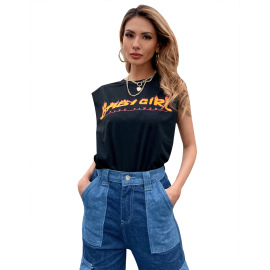 Women's Letters Printed Short-sleeve T-shirt Nihaostyles Clothing Wholesale NSJM80180