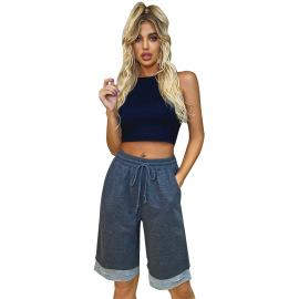 Women's Ripped Stitching Shorts Nihaostyles Clothing Wholesale NSJM80183