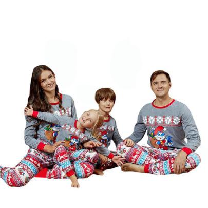 Christmas Printed Pajamas Nihaostyles Wholesale Christmas Costumes NSXPF80199